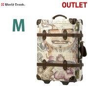 アウトレット ブランド ワールド トランク キャリー スーツケース キャリーバッグ
