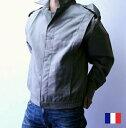 【SALE¥3800→¥1950】 フランス軍 ワーク ブルゾン / ジャケット / デッドストック メンズ ジャケット / 軍