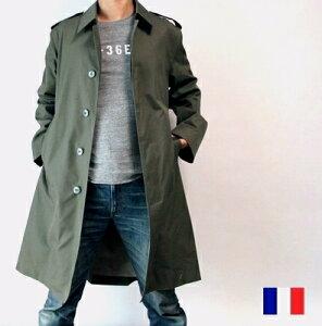 フランス軍 防水 ステンカラー コートフランス軍 防水 ステンカラー コート / デッドストック ...