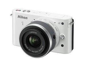 Nikon 1 J2 標準ズームレンズキット ホワイト【新品】【取寄品】[送料525円]