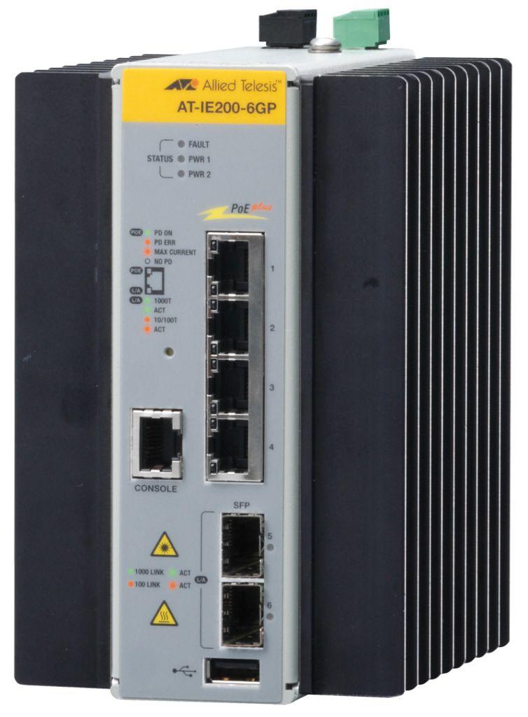 パソコン・周辺機器, その他 AT-IE200-6GP-Z1 101001000BASE-Tx4(PoE-OUT)SF Px2(1) 2348RZ1