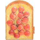 【通販限定/新品/取寄品/代引不可】まるでパンみたいなおりたたみミラー2 さくらんぼ PAN-OM2-SA 1コ入