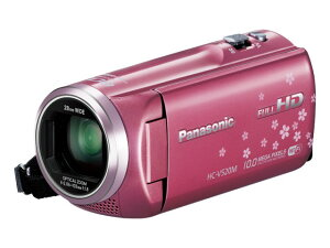 デジタルハイビジョンビデオカメラ HC-V520M-P ピンク【新品】【在庫品】[送料無料 (一部特殊地...