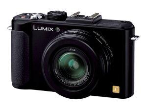 LUMIX DMC-LX7-K ブラック【新品】【在庫品】[送料無料 (一部特殊地域を除く)]