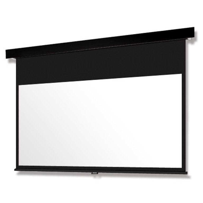 【新品/取寄品】Pセレクション手動スクリーン 黒パネル/130型HD SMP-130HM-K2-WG