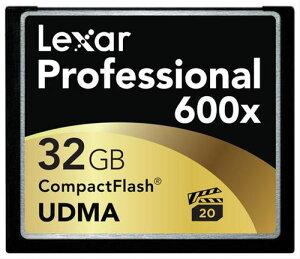 プロフェッショナル 600倍速シリーズ コンパクトフラッシュ 32GB LCF32GCTBJP600【新品】【取寄...