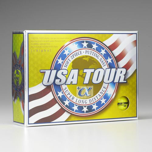 【新品/取寄品】USA TOUR DISTANCE +α 12P YELLOW