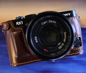【新品/取寄品】【限定商品】Half Case for Sony RX-1/RX-1R Dar…