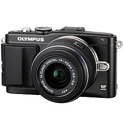 OLYMPUS PEN Lite E-PL5 レンズキット ブラック【新品】【在庫品】[送料無料 (一部特殊地域を除...