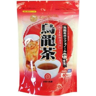 【通販限定/新品/取寄品/代引不可】お茶の丸幸 烏龍茶ティーバッグ 4g*40袋入