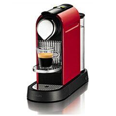 Nespresso(ネスプレッソ) コーヒーメーカー Citiz(シティズ) C110RE レッド 【同梱カプセル...