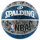 【新品/在庫あり】バスケットボール グラフィティ ブルー 5号球 83-678J