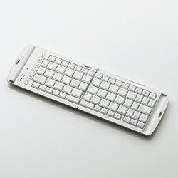 Bluetooth折りたたみキーボード TK-FBP028EWH ホワイト【新品】【2011年05月27日発売 予約受付...