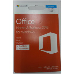 Office Home & Business 2016 POSA/ダウンロード版 T5D-02853