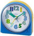 【新品/取寄品】MAG(マグ) 置き時計 T-735 BU-Z ブルー 90x85x38mm 目覚まし時計 クリップ 連続秒針 ノア精密