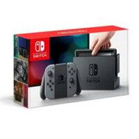 【新品/予約受付】NintendoSwitch本体JOY-Con(L)/(R)グレー[HAC-S-KAAAA]