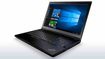 【新品/取寄品】ThinkPad P70/E3-1505M v5/16GBMem/512GB/Win10Pro for Workstations 20ES002KJP
