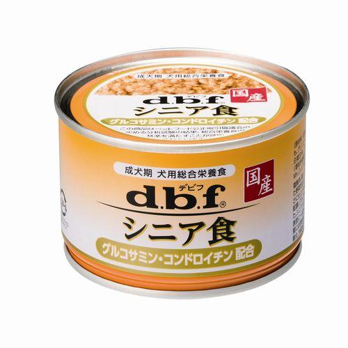 【新品/取寄品】d.b.f シニア食 グルコサミン・コンドロイチン配合 150g