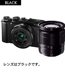 FUJIFILM X-M1 ダブルレンズキット ブラック【新品】【在庫品】[送料無料 (一部特殊地域を除く)]