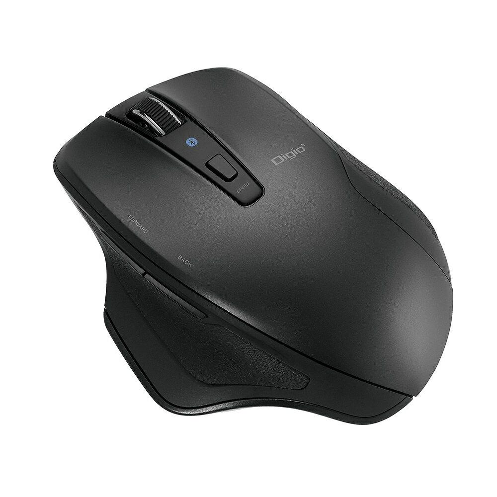 ナカバヤシ『Bluetooth静音5ボタンBlueLEDマウス(MUS-BKF157)』