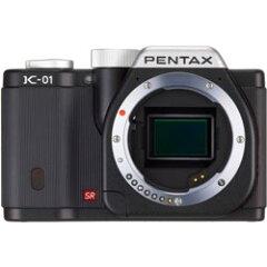 PENTAX K-01 ボディ ブラック×ブラック【新品】【在庫品】[送料無料 (一部特殊地域を除く)]