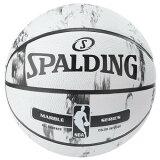 【新品/在庫あり】バスケットボール マーブルコレクション ホワイト 7号球 83-635Z