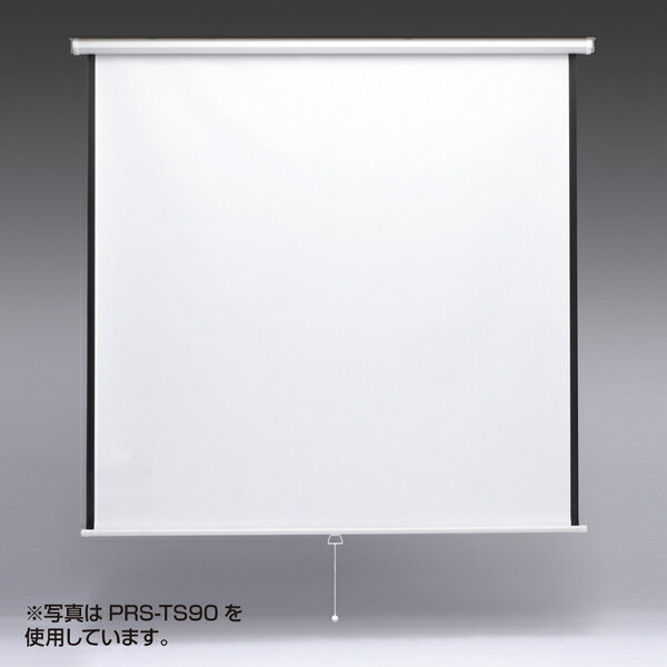 【新品/取寄品】プロジェクタースクリーン(吊り下げ式) 80型相当 PRS-TS80