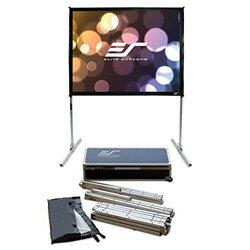 【新品/取寄品】プロジェクタースクリーン クイックスタンド 150インチ(4:3) シネホワイト素材 Q150V1