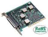 【新品/取寄品/代引不可】PCI対応 絶縁型RS-232CシリアルI/Oボード 4chタイプ COM-4P(PCI)H
