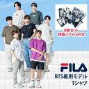 FILA Tシャツ グローバルブランドアンバサダー 「BTS