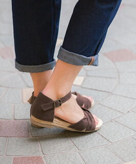 送料無料クロスストラップローヒールジュートサンダルレディース歩きやすいウェッジソールウェッジ靴スエードストラップ赤黒ウエッジサンダルアンクルストラップフラットシューズ