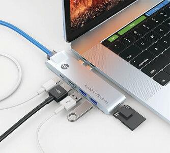 【TUNEWEAR/チューンウェア】ALMIGHTYDOCKTB3USB-Cハブ(オールマイティードッグティービースリー)【MacBookPro2016、2017、2018/MacBookAir2018対応】【EthernetポートHDMIポートマルチハブThunderbolt3対応高速通信SDカード】