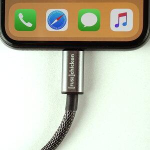 【FuseChicken/ヒューズチキン】【日本総代理店】ShieldLightningtoUSB1mリベットチャージ【iPhoneiPad充電ライトニングケーブルタフ頑丈柔軟性アウトドアFUS-OT-000008】