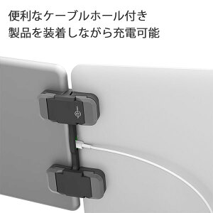 【TenOneDesign/テンワンデザイン】Mountie+(マウンティプラス)ディスプレイアダプタ【マルチディスプレイ固定グッズiPhoneiPadMacBookグレーTEN-OT-000004ディスプレイマウント簡単取付iPadAir】