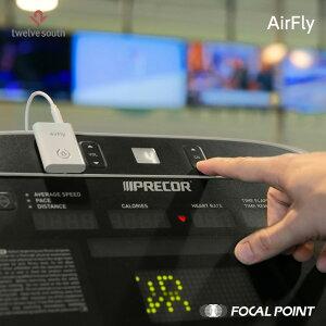 【TwelveSouth/トゥエルブサウス】AirFly(エアフライ)Bluetoothトランスミッター【AirPodsワイヤレスヘッドホンワイヤレスイヤホントラベルグッズ飛行機使用OKNintendoSwitchテレビaptX-LL対応aptX対応Bluetoothv4.1スポーツジム国際線国内線】