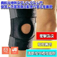 膝への衝撃吸収、曲げ伸ばしを力強くサポート