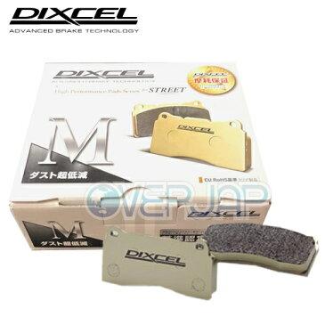 M361055 / 365089 DIXCEL Mタイプ ブレーキパッド 1台分セット スバル エクシーガ YA4 2000 2010/4〜