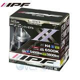 【保証書捺印付!当社在庫有り】 341HLB2 IPF LED ヘッドランプバルブ X2 H4 Hi/Lo 12V/24V 36W/32W 6500K