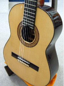 高級ドイツ松単板スペイン製レキントギター専用ハードケース付