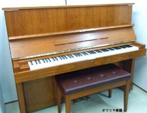 新品のように綺麗になった再生ピアノ
