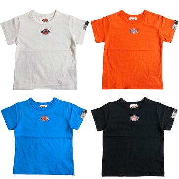 【50%OFF セール(SALE)】F.O.KIDS×Dickies エフオーキッズ×ディッキーズ コラボ半袖Tシャツ (ゆうパケット(メール便)OK)(2019春夏)80cm/90cm/100cm/110cm/120cm/130cm/140cm FOKIDS 子供服 子ども服