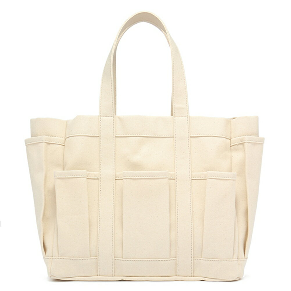 レディースバッグ, トートバッグ  COTTON CANVAS TOOL BAG W27610 2019AW ECRU 3 COMME des GARCONS
