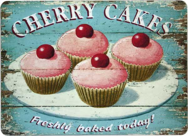 クッション, その他 CASTLE MELAMINE Table MatCherry Cakes TMCM12