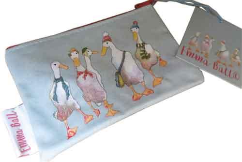 財布・ケース, レディース財布 Emma Ball Purse Ducks EBSP53 8.5cm 14cm