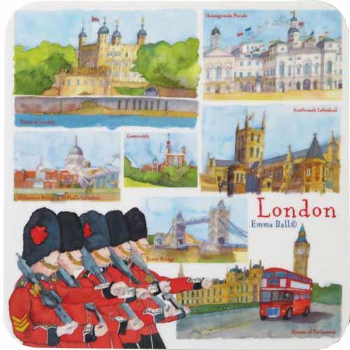 クッション, その他 Emma Ball Coasters London EBCW030