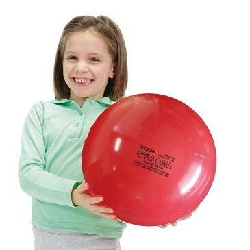 【Wアクションポンププレゼント】ギムニク30 (日本限定色)レッド バランスボール ジュニア イタリア レードラプラスチック社製