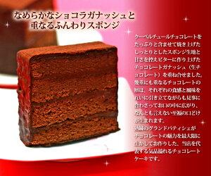 ショコラガナッシュとふんわりスポンジの至福のハーモニー!