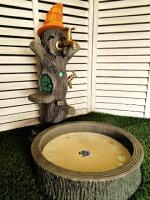 立水栓水栓柱立水栓セットかわいいオバケのツリーハウス立水栓&シンクセット