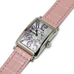 フランクミュラーロングアイランドグラデーション750WGカラードリームピンクベルト国際保証書902QZGRADATIONOG腕時計美品【中古】