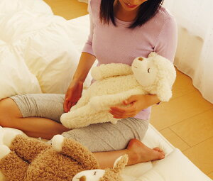 抱き枕キャラクター|抱きひつじのメイプルMサイズ約50センチ(羊の抱き枕)【メイプルちゃん/キャラクター/マスコット/プレゼント/ギフト/グッズ/クッション/動物】【だきまくら/抱枕/抱きまくら】【母の日】